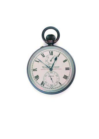 Chronomètre de poche signée (cadran et mouvement),...