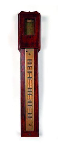 Horloge murale japonaise (piller clock) avec...