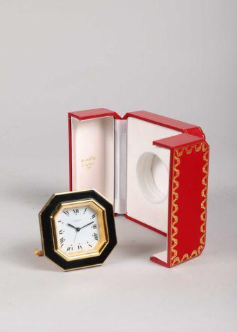 Pendulette-réveil de voyage 'Cartier Paris...