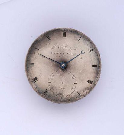 Une épave de chronomètre de marine signé...