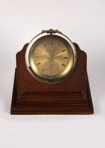 Mouvement d'un chronomètre de marine de deux...