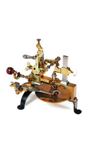 Machine à diviser en acier et laiton, pieds...