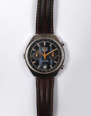HEUER – Carrera, fin des années 1960 Montre...