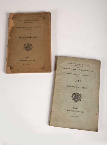 1889 Exposition Universelle de … Liste de...