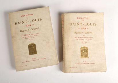 1904 Saint-Louis. Rapport général par Henri...