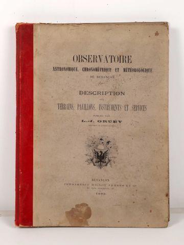 GRUEY, L.-J. Observatoire astronomique, chronométrique...