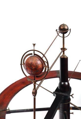 Tellurian ou appareil tellurique pour démontrer les phénomènes des saisons dans...
