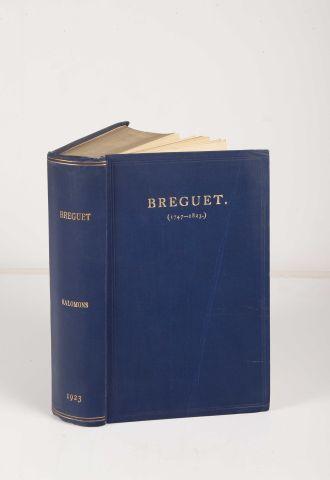 SALOMONS, Sir David Lionel. Breguet (1747-1823),...