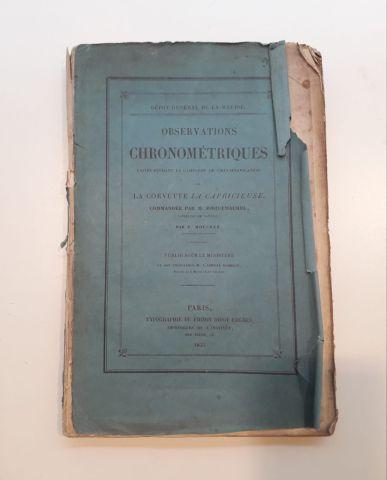 MOUCHEZ, E. Observations chronométriques...