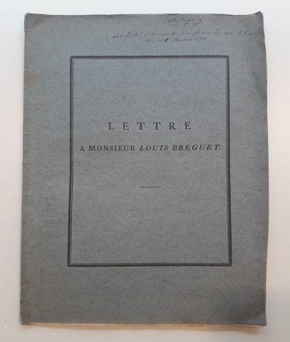 SCHUMACHER, [Heinrich Christian]. Lettre...