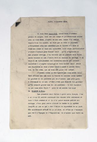 DESCRIPTION du brevet de Breguet pour son...