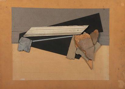 Attribuée à Alain LE YAOUNANC (1940-),  «Composition/...