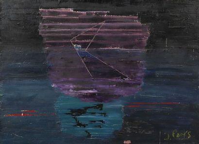 Jean PONS (1913-2005),  «Rhapsody in blue»,...
