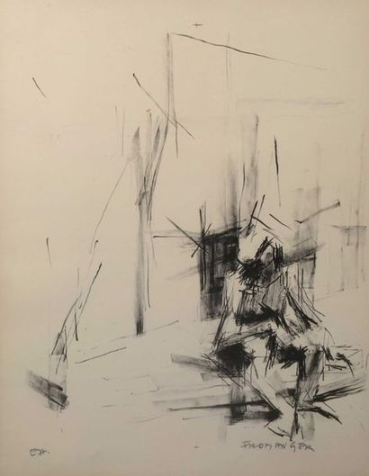 Gerard FROMANGER (1939-),  «Sans titre»,...