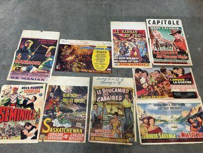 Ensemble de plus de 100 affichettes belges...