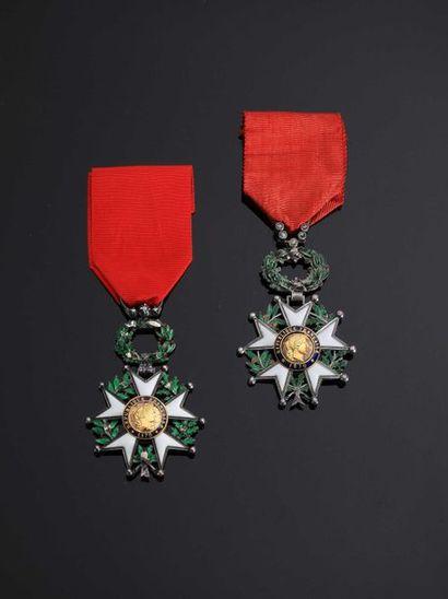–IDEM-. Lot de 2 étoiles de chevalier en...
