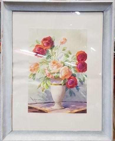 Mikaelovitch QUZIEMSKI (1882 – 1973)  Bouquet...