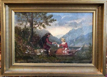 Louis-Jules GUEDY (1847-1926)  Deux toiles...
