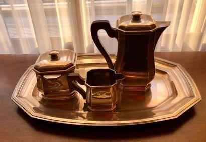 TETARD Fr.  Partie de service à thé et à...