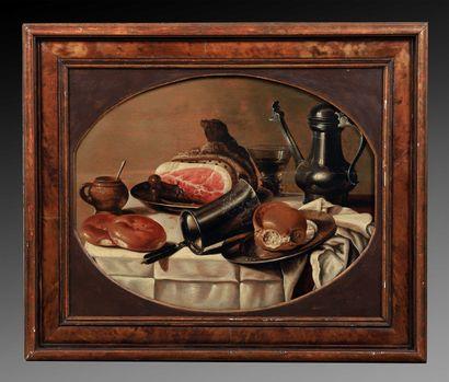 Suiveur de Pieter CLAESZ (1597-1660)  Nature...