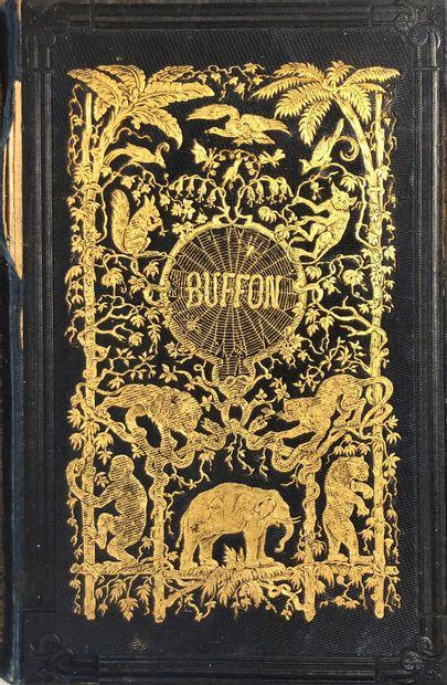 Lot de livres reliés comprenant:  -Les Fables...
