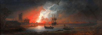 Alexandre J. NOEL (1752-1834)  Trois marines...