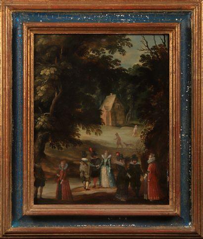 École flamande du XVIIème siècle  Suiveur...