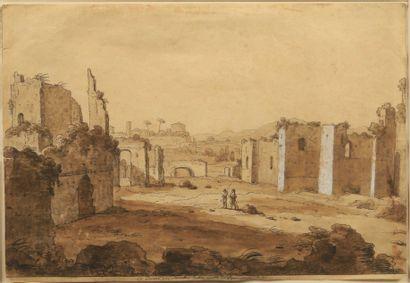 Attribué à Carlo LABRUZZI (1748 - 1817)  Les...