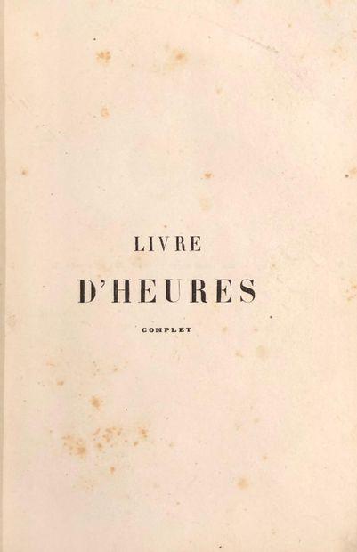 LOT RELIGION:  -[Adolphe DELAHAYS] Livre...