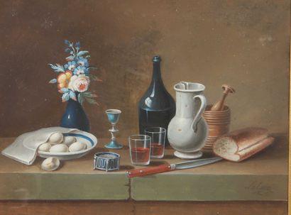Johann Rudolf FEYERABEND dit LELONG (1779-...