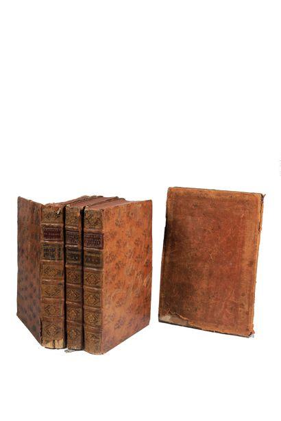 Ensemble de quatre volumes et/ou feuillets...
