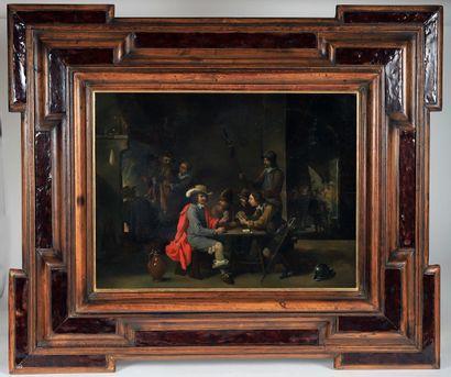 École flamande du 17ème siècle  Suiveur de...