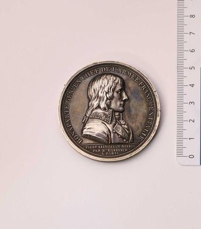 Médaille: NAPOLEON I, Paix de Campo Formio....