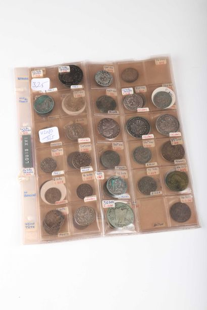 FRANCE. Lot de 47 monnaies divisionnaires...