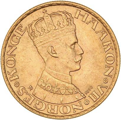 Norvège - Haakon VII - 20 couronnes 1910...