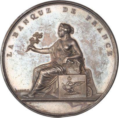 Médaille : Banque de France / Défense de...