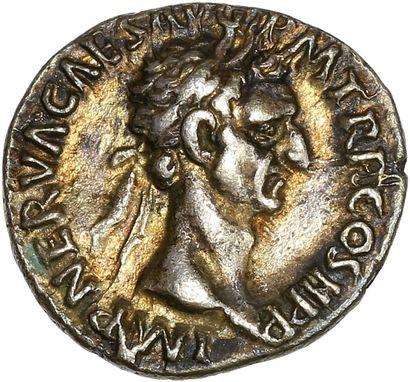 Rome ,Nerva ( 96-98) : Denier   R/ La liberté...
