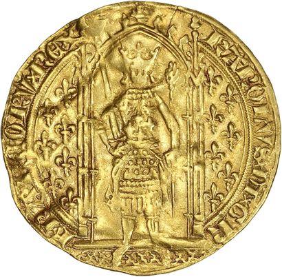 France, Charles V (1364-1380) - Franc à pied...