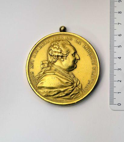 Médaille: REVOLUTION, Abandon des privilèges....