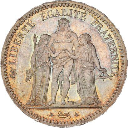 Troisième République (1870-1940) : 5 francs...