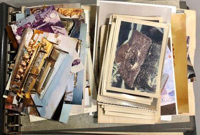 Album de photos de pendules et baromètre...