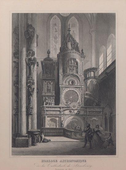 Troisième horloge de la cathédrale de Strasbourg...