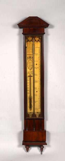 Reproduction d'un baromètre – thermomètre...