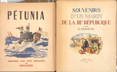 GERVÈSE, H. Souvenirs d'un marin de la IIIe...