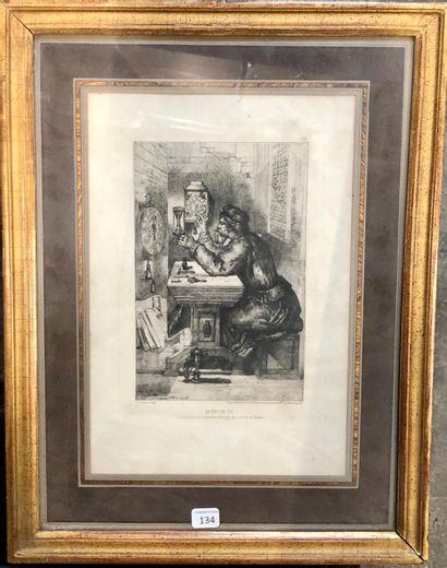 Portrait imaginaire d'Henry de Vic, créateur...