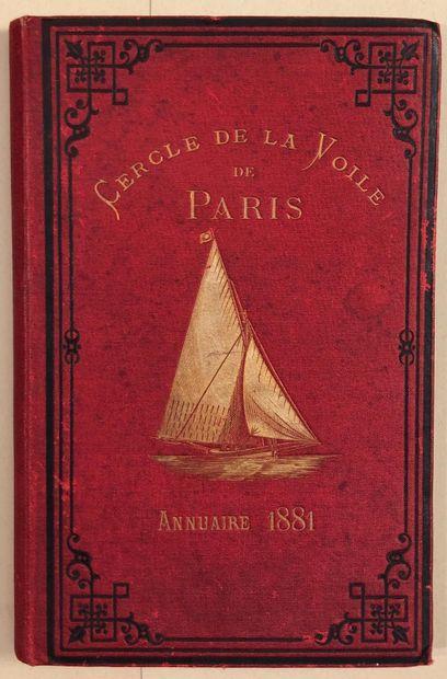 CERCLE DE LA VOILE DE PARIS. Société de navigation...