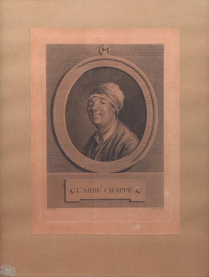 Jean Chappe d'Auteroche (1728-1769)  Portrait...