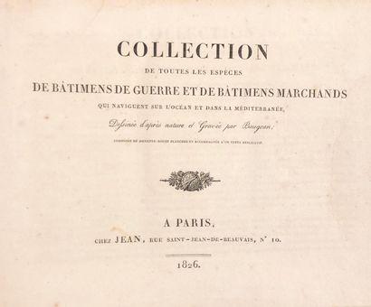 BAUGEAN, [Jean Jérôme]. Collection de toutes...