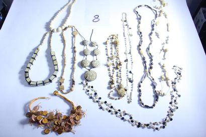 1 lot de bijoux fantaisies dans les tons...