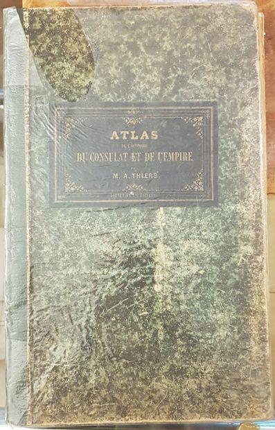 THIERS A.  Atlas de l'histoire du Consulat...
